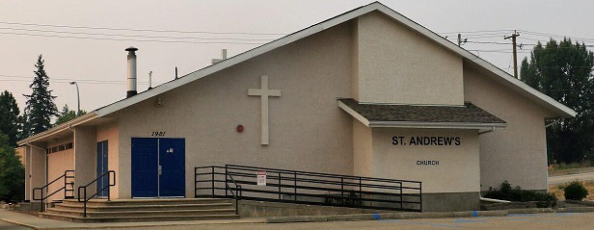 St. Andrew's Church Salmon Arm BC